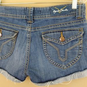 Vigoss Studio Double Button Fly Jean Shorts Sz 30